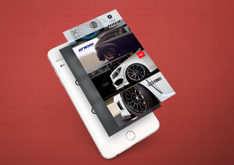 Car wheel App 2