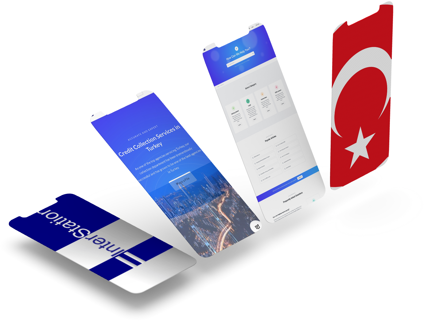 debt collection turkey website