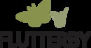 Flutterby logo