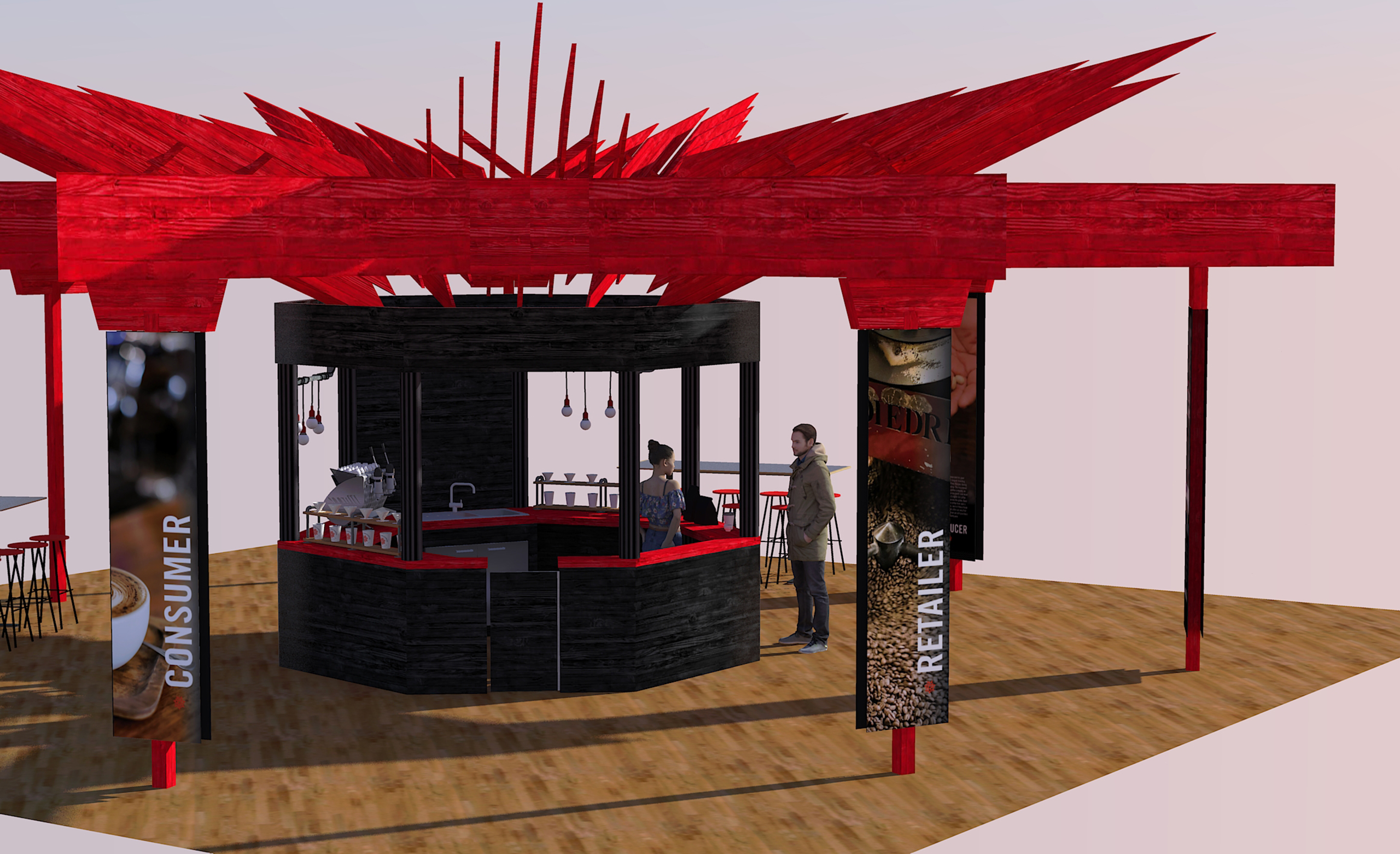 Trade show booth 3