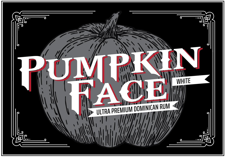 Pumpkinface Rum Top Label
