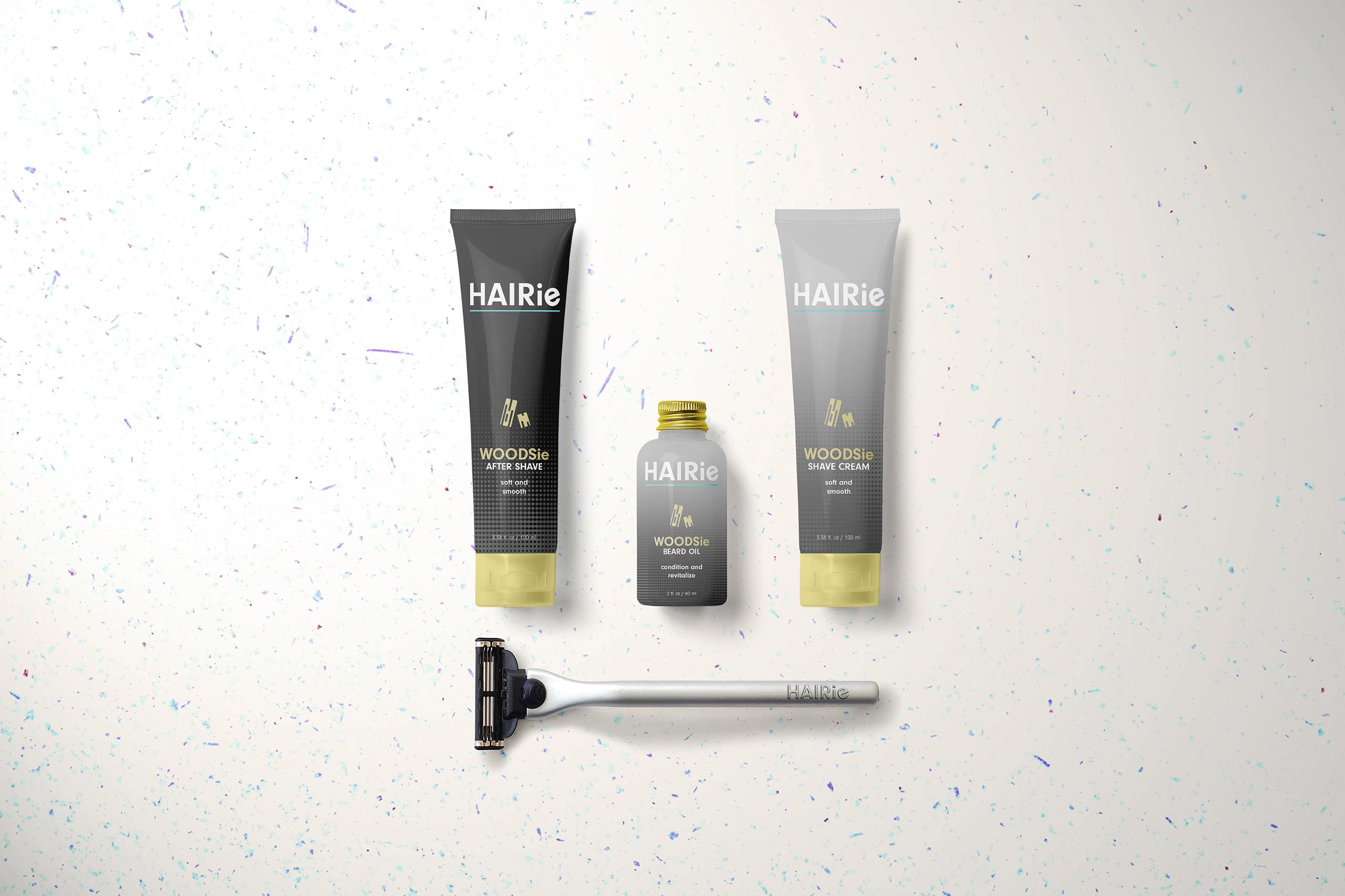 Hairie Woodsie shave kit