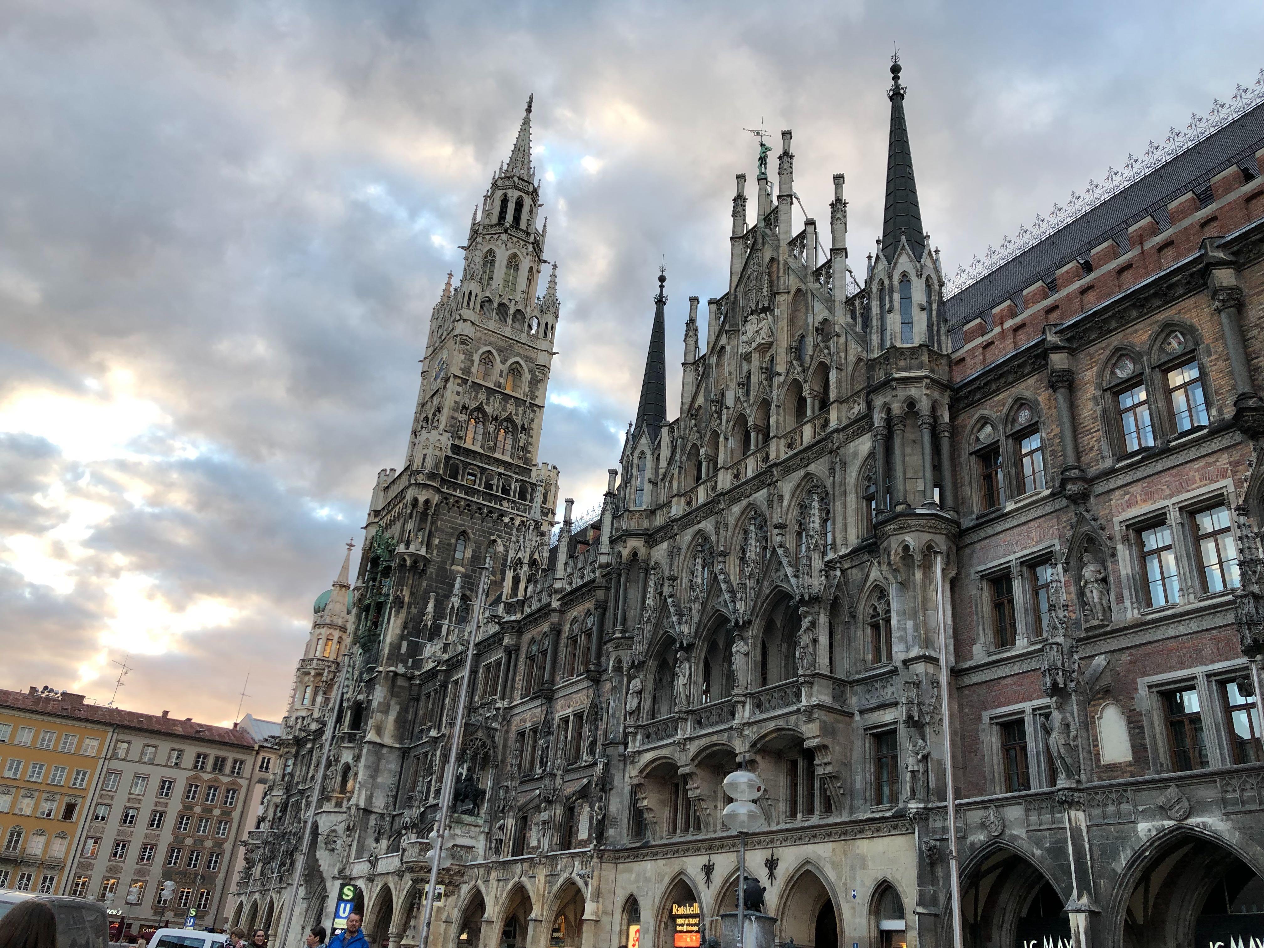 Münchner Marienplatz Kostenloses Bild Herunterladen Mainblick