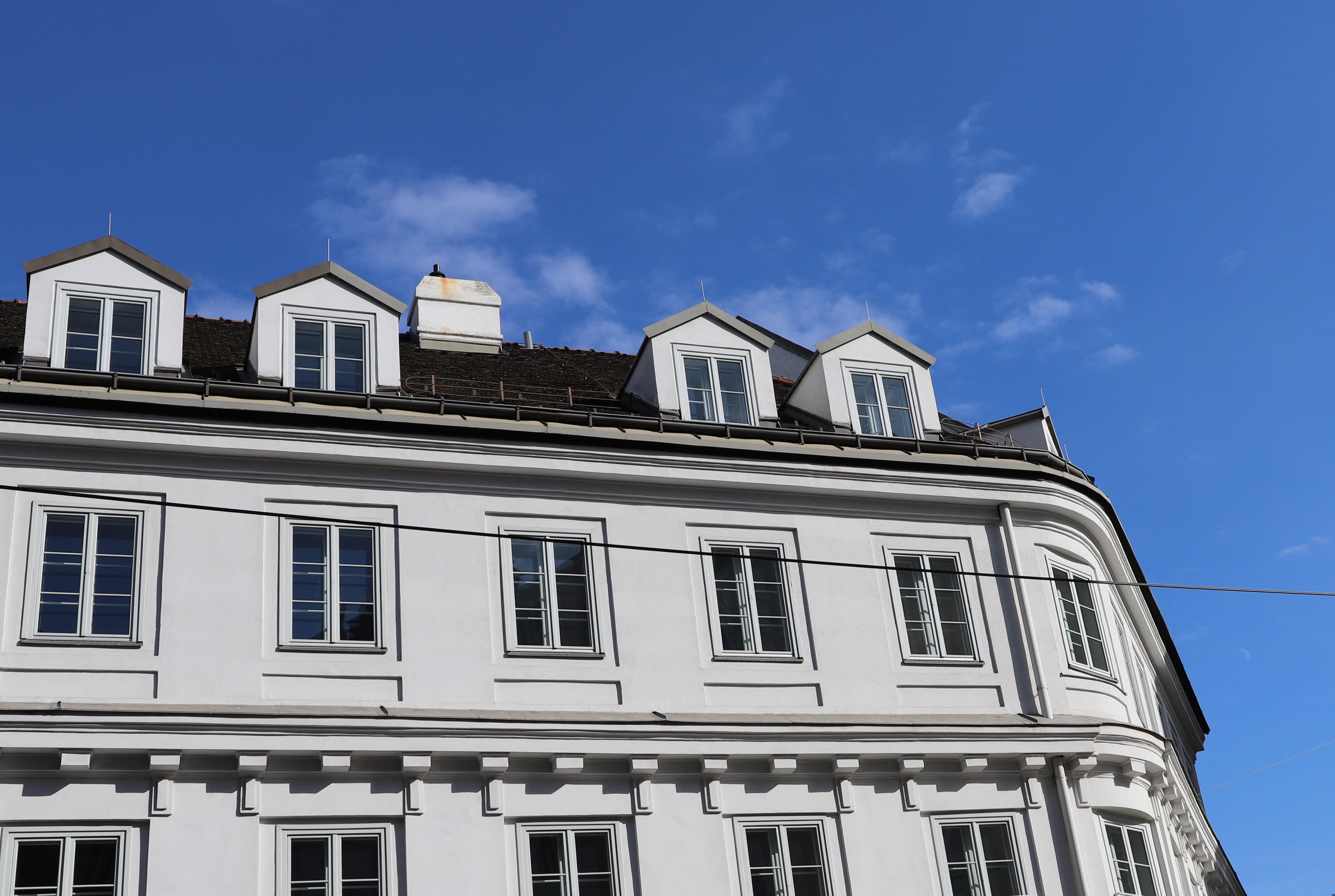 Frankfurt Immobilien Lizenzfreie Bilder
