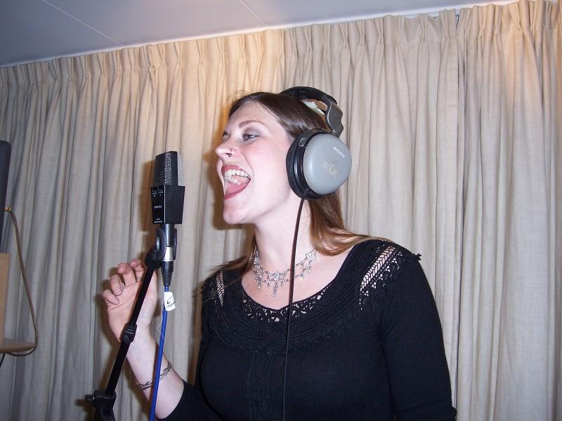 Recording with Arjen Lucassen