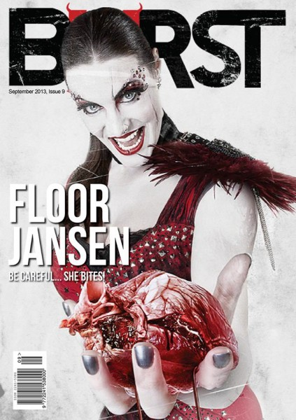 On Cover of Burst Magazine