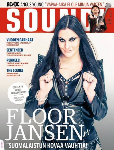 On cover of Soundi Magazine