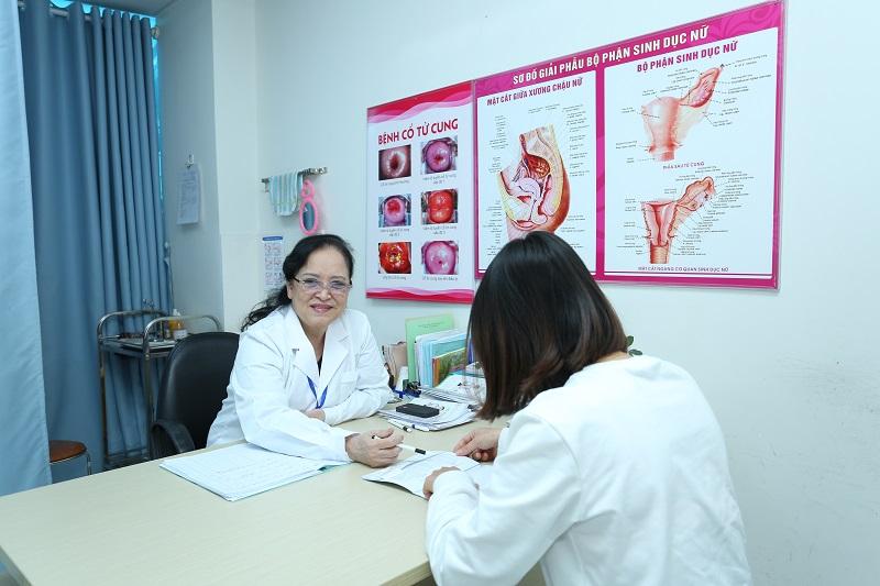 Chữa, đốt viêm lộ tuyến cổ tử cung ở Phòng khám đa khoa Hưng Thịnh