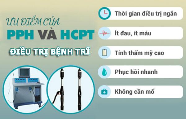 Phương pháp xâm lấn tối thiểu HCPT & PPH chữa bệnh trĩ hiệu quả