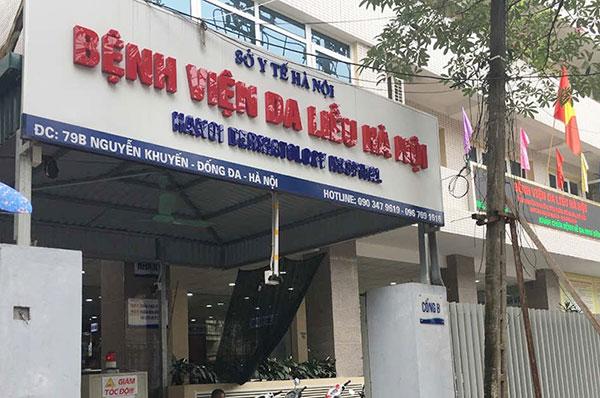 Xét nghiệm giang mai ở Bệnh viện Da Liễu Hà Nội