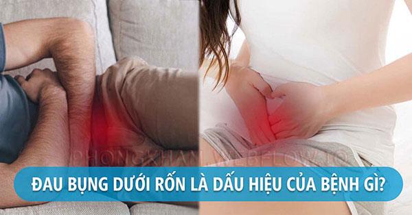 Đau bụng dưới rốn là gì? Đau bụng dưới bên phải trái nguyên nhân cách khắc phục