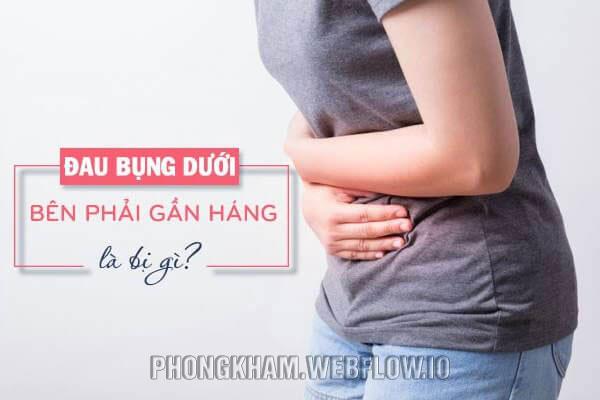 Nguyên nhân gây ra đau bụng dưới rốn bên phải, trái ở nữ