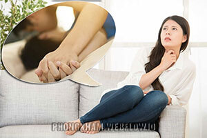 Dùng tay chạm vào vùng kín có thai không? Có bị sao không