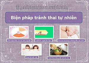 14 biện pháp tránh thai tự nhiên an toàn hiện đại hiệu quả sau sin