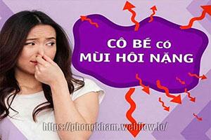 Khí hư có mùi hôi nhưng không ngứa 5 cách điều trị hiệu quả