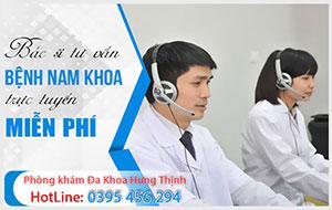 TOP 10 Bác sĩ giỏi tư vấn nam khoa trực tuyến ONLINE 1800...miễn phí ở Hà Nội