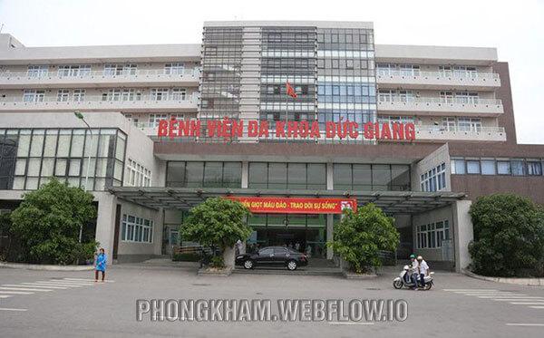 Bệnh viện Đa khoa Đức Giang bệnh viện khám ngoài giờ
