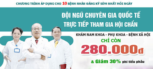 Gói khám nam khoa tổng quát chỉ với 280k tại Phòng khám đa khoa Hưng Thịnh