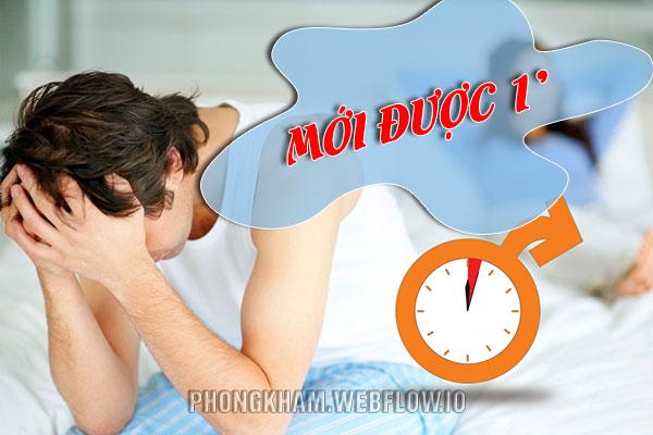 Thời gian quan hệ bao nhiêu phút thì được coi là xuất tinh sớm?