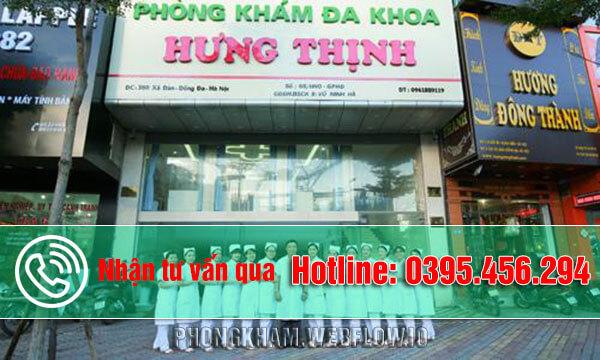 Phòng khám đa khoa Hưng Thịnh - Địa chỉ cắt trĩ uy tín tại Hà Nội