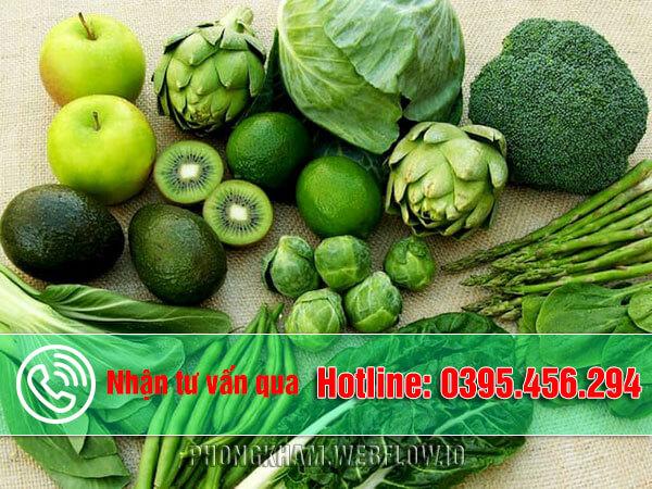 Bệnh trĩ nên ăn rau gì và kiêng rau gì?