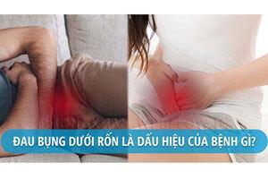 Đau bụng dưới rốn là gì? đau bên phải trái nguyên nhân cách khắc phục