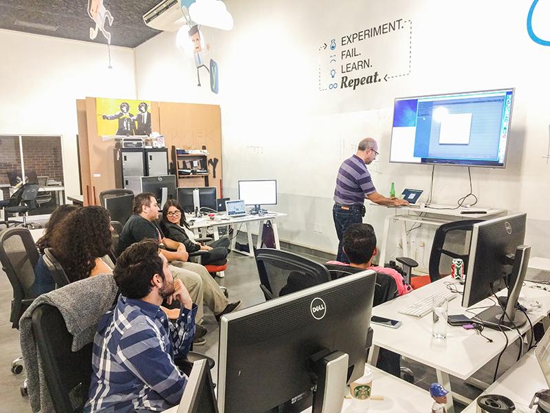 Instalaciones de las oficinas de Handy en Guadalajara