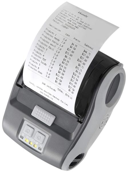 Impresora portátil para impresión en punto de venta