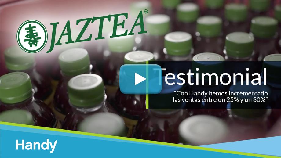 Vista previa y vínculo al video Testimonial - Jaztea