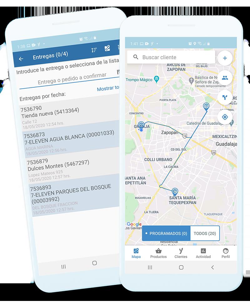 Dispositivos móviles con información relevante para los vendedores
