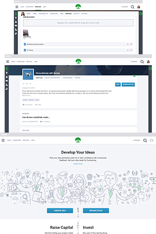 Crowdfunding and Project Management Platform