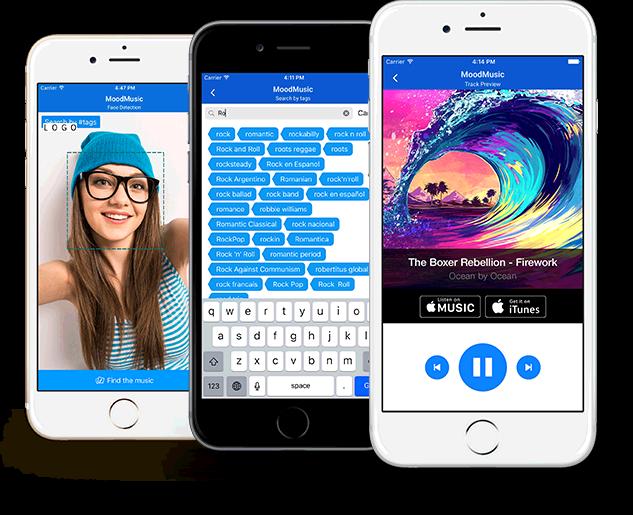 Mood Music iOS application