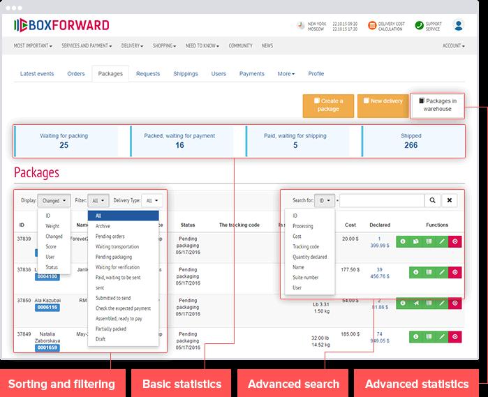 Boxforward: Freight Forwarding Logistics Web Service