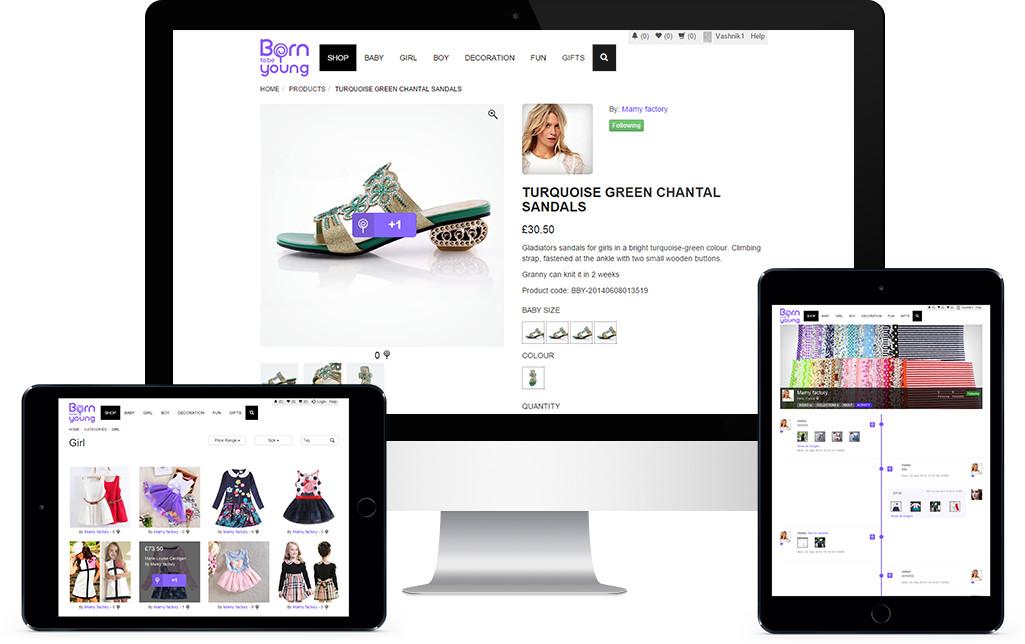 SpreeCommerce website development