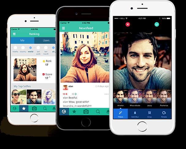 Selfiest mobile app