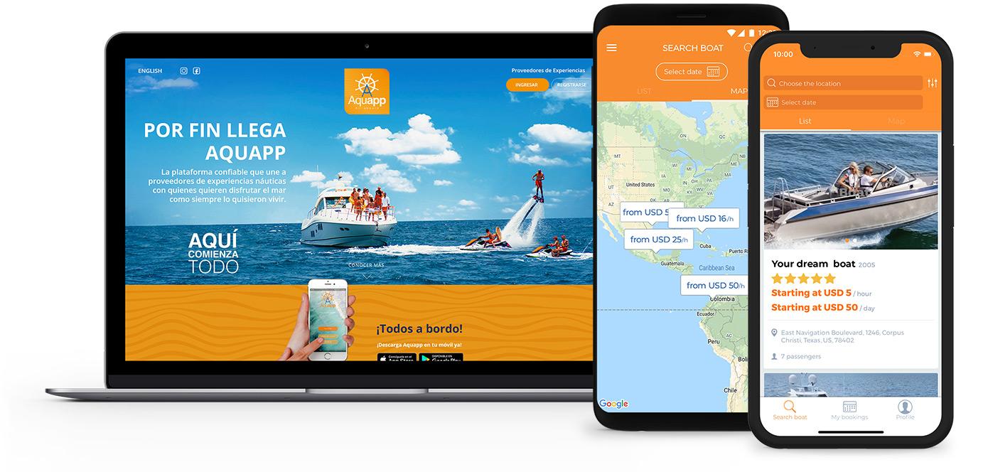 AquaApp mobile app development
