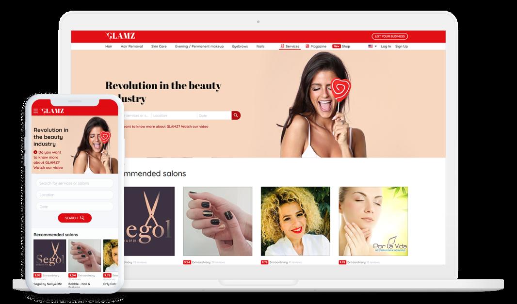 Glamz - Platform for Beauty Professionals