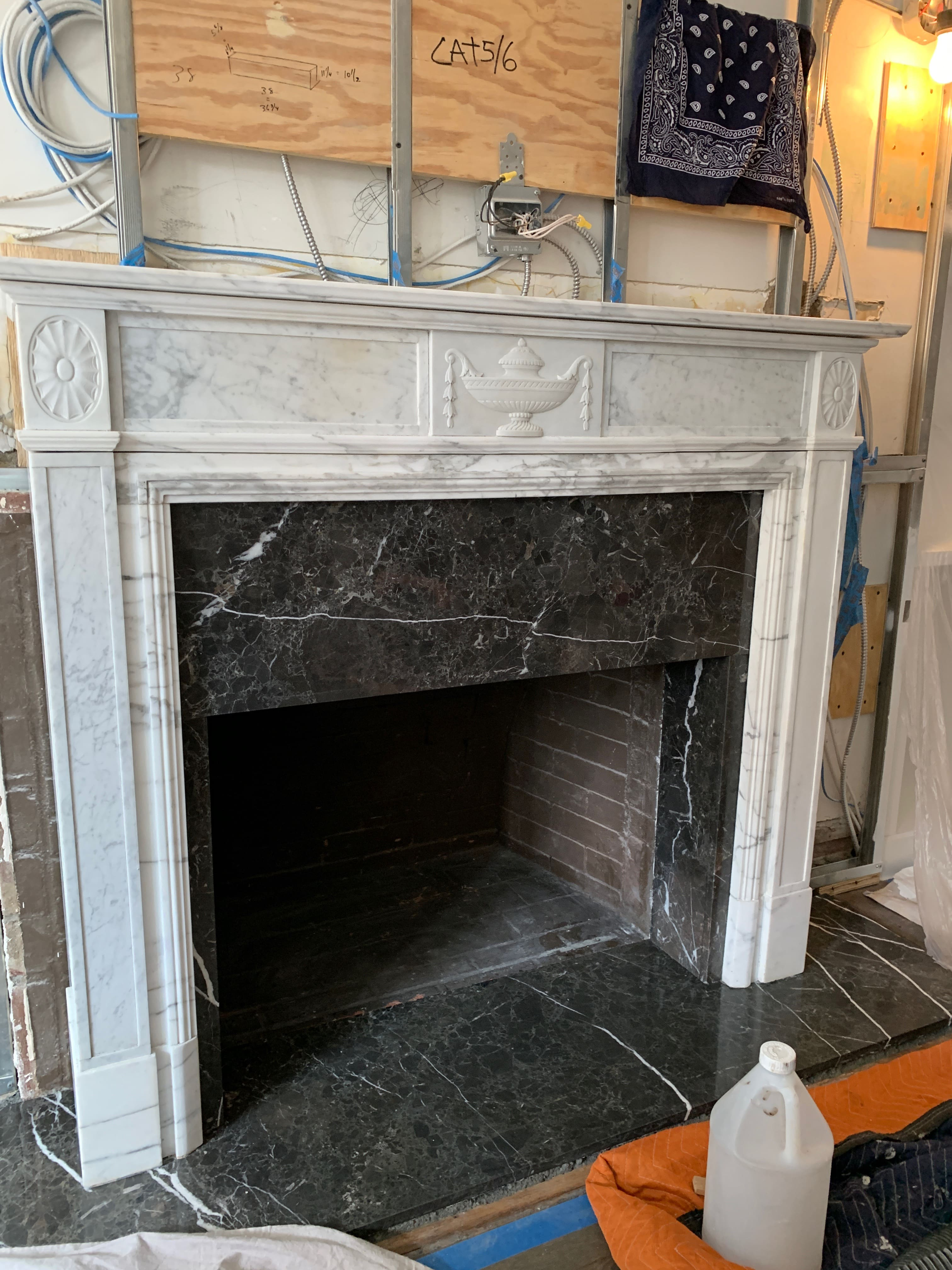 70 East 96 Fireplace