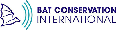 The logo for the Bat Conservation International.