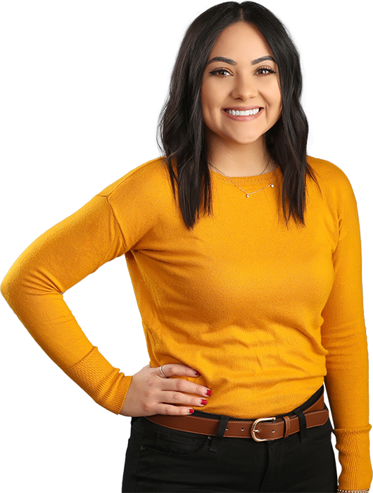 A photo of Rebecca Castañeda.