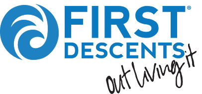 The logo for First Descents.