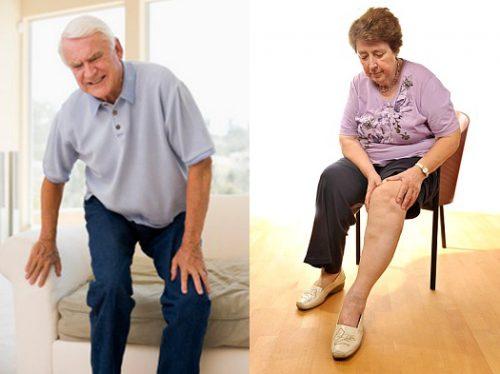 Cách chữa đau khớp gối cho người già tại nhà hiệu quả