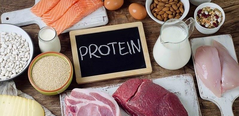 Protein cũng là chất nên được bổ sung cho người bị bệnh