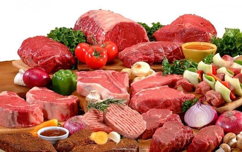 Tránh sử dụng các loại thịt đỏ
