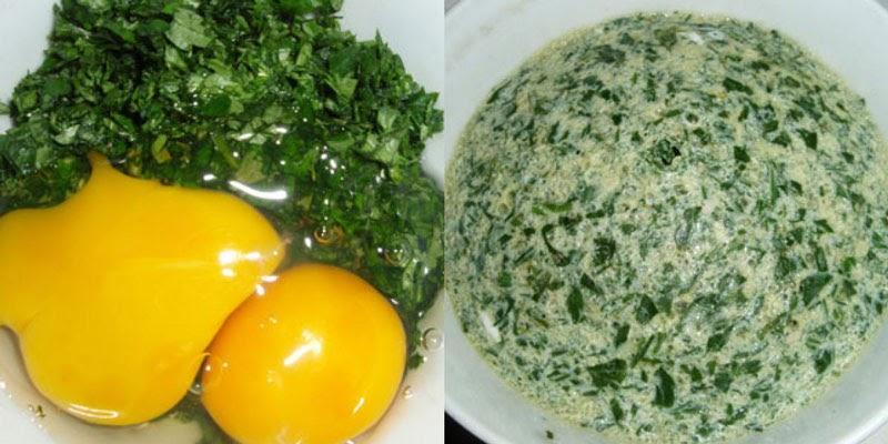 Trứng rán ngải cứu là một món ăn có công dụng chữa đau xương khớp hiệu quả