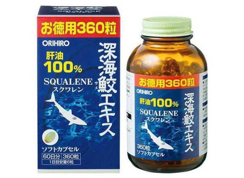 TPCN Squalene Orihiro là một sản phẩm đến từ đất nước Nhật Bản
