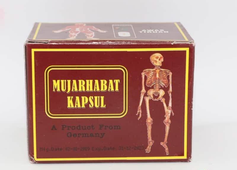 Mujarhabat Kapsul là TPCN có nguồn gốc từ Malaysia