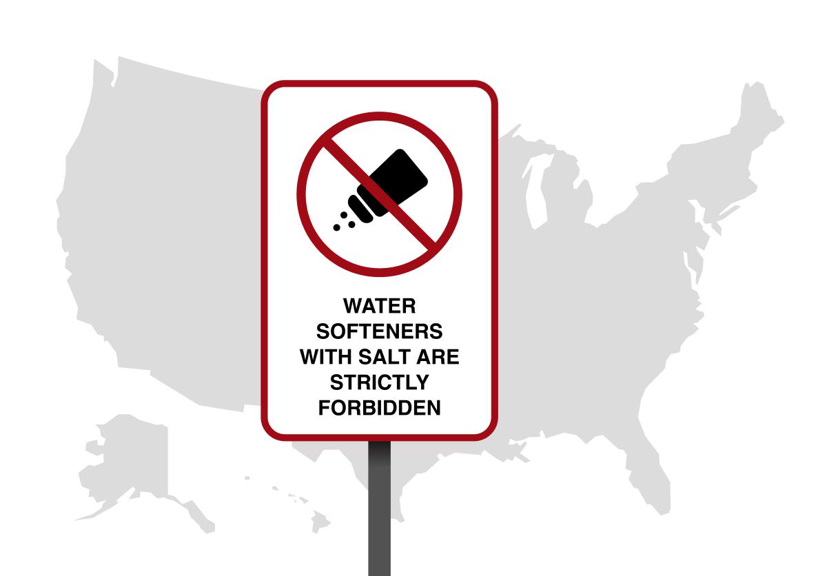 Zout voor waterverzachter is slecht