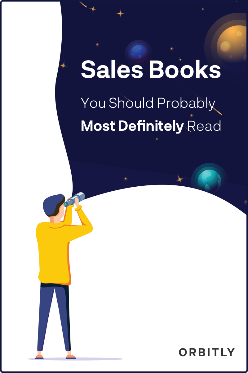 Sales Books You Should Probably Most Definitely Read