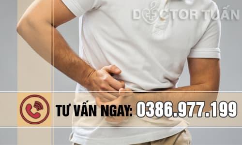 Nguyên nhân gây đau bụng dưới rốn cho nam giới (trái-phải)